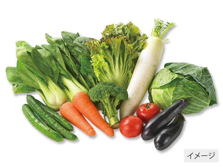 大地宅配の野菜