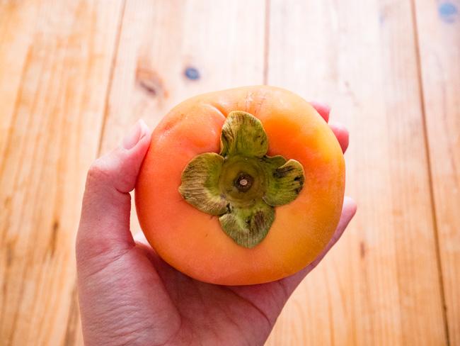 大地宅配の柿