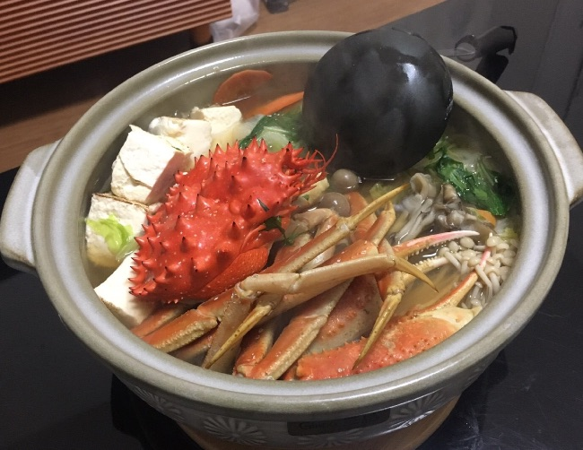 煮立ち後鍋