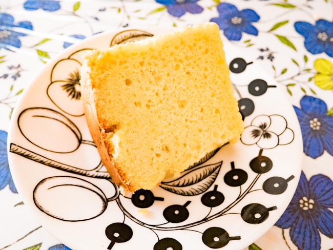 安納芋のシフォンケーキ