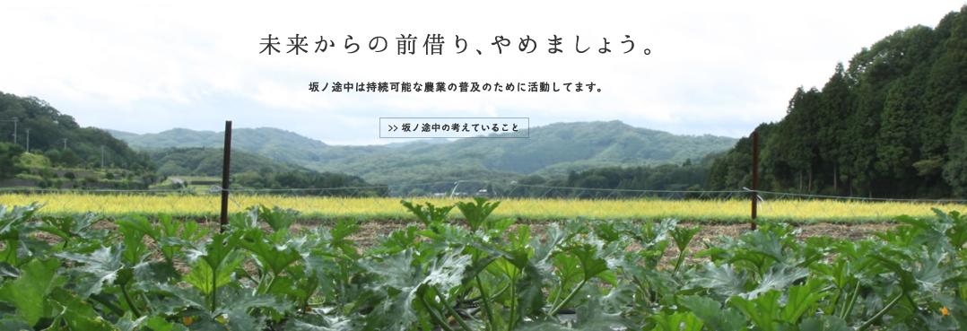 坂ノ途中公式サイト