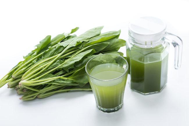 青汁と野菜