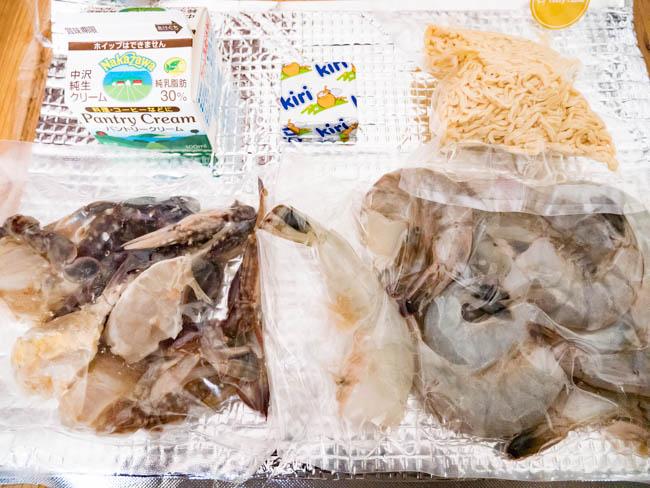 TastyTableの魚介類など