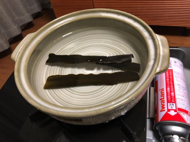 北釧水産のカニしゃぶ昆布でダシが取れた!